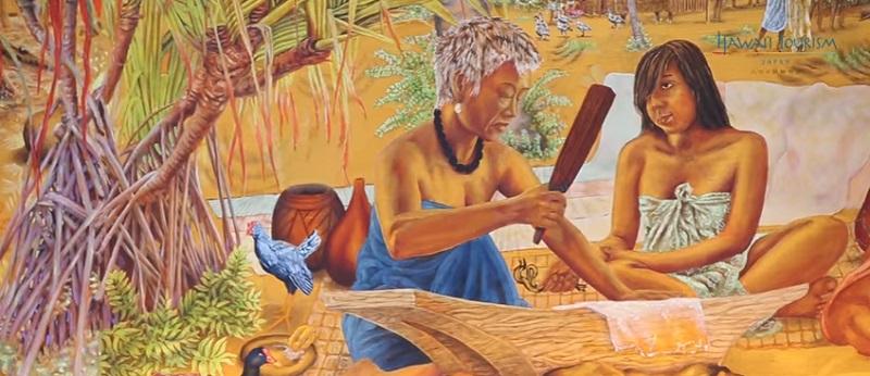ハワイ文化-絵画
