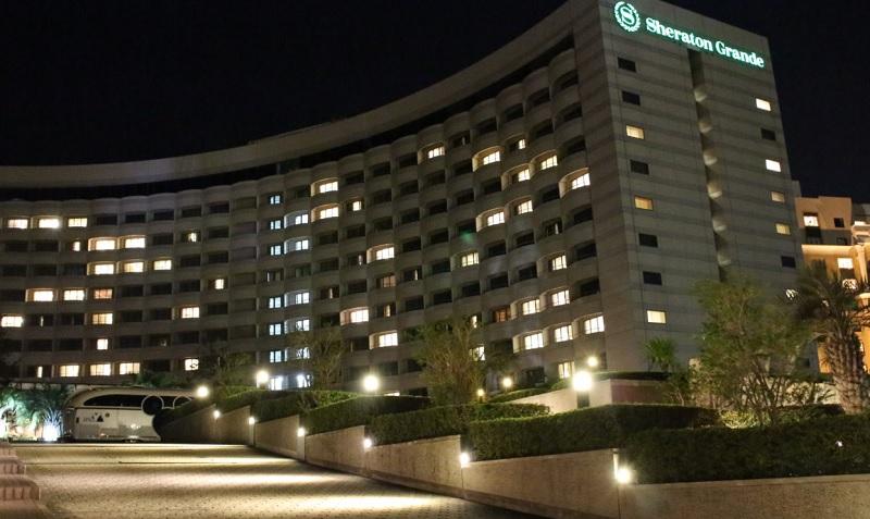 オフィシャルホテル-シェラトン
