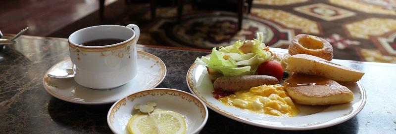 ドリーマーズラウンジ朝食